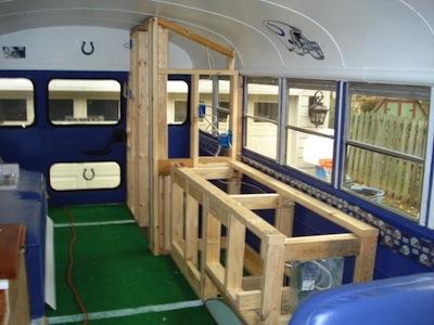 Bus in progress